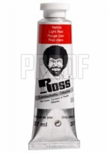 Bob Ross Ölfarbe Hellrot 37ml