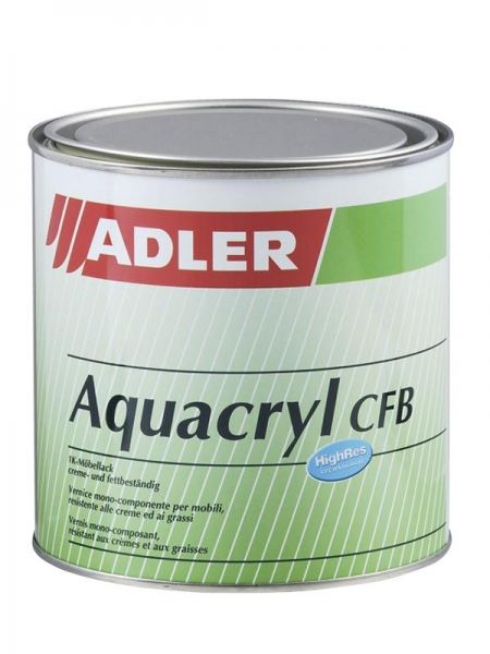 Aquacryl CFB 125ml versch. Glanzgrade